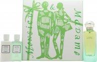 Hermes Un Jardin Sur Le Nil Set de Regalo 100ml EDT + 40ml Loción Corporal + 40ml Gel de Ducha