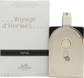 Hermes Voyage d'Hermes Parfum Pure Perfume 35ml Vaporizador - Rellenable