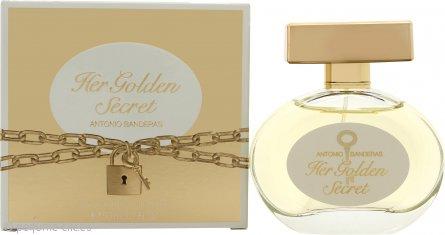 Antonio Banderas Her Golden Secret Eau de Toilette 50ml Vaporizador