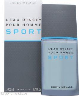 Issey Miyake L'Eau d'Issey Pour Homme Sport Eau De Toilette 200ml Vaporizador