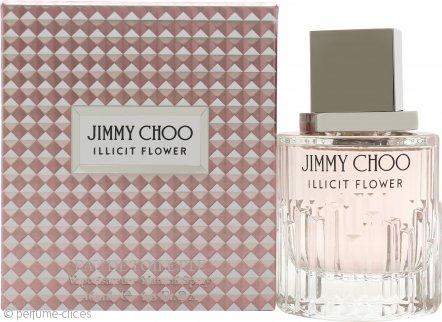 Jimmy Choo Illicit Flower Eau de Toilette 40ml Vaporizador