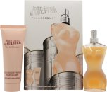 Jean Paul Gaultier Classique Set de Regalo 50ml EDT + 75ml Gel de Ducha
