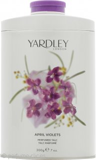 Yardley April Violets Talco Perfumado 200g