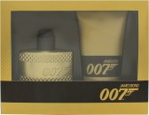 James Bond 007 Gold Set de Regalo 50ml EDT + 150ml Gel de Ducha