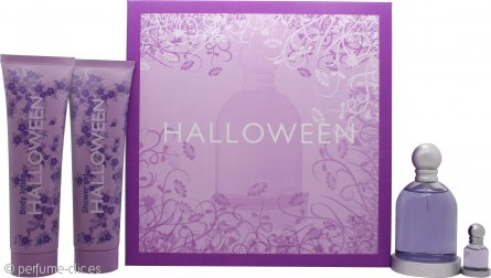 Jesus del Pozo Halloween Set de Regalo 100ml EDT + 150ml Loción Corporal + 150ml Gel de Ducha + 4.5ml EDT