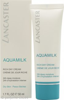 Lancaster Aquamilk Rich Crema Día 50ml
