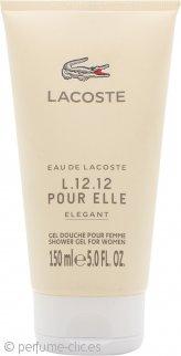 Lacoste L.12.12 Pour Elle Elegant Gel de Ducha 150ml