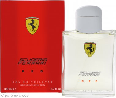 Ferrari Scuderia Ferrari Red Eau de Toilette 125ml Vaporizador
