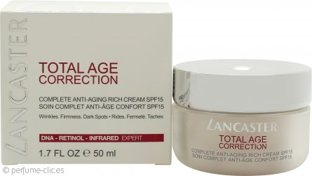 Lancaster Total Age Correction Day Crema FPS15 50ml - Rich