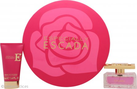 Escada Especially Set de Regalo 50ml EDP Vaporizador + 50ml Loción Corporal