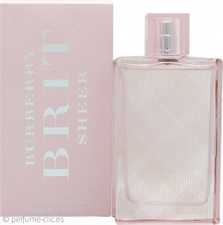 Burberry Brit Sheer Eau de Toilette 100ml Vaporizador