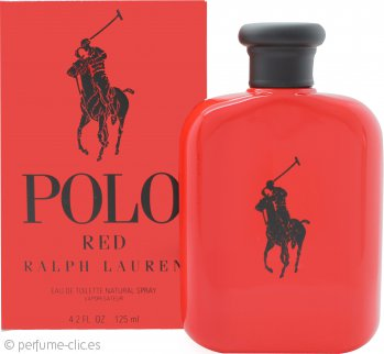 Ralph Lauren Polo Red Eau de Toilette 125ml Vaporizador