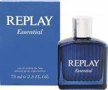 Replay Essential for Him Eau de Toilette 75ml Vaporizador