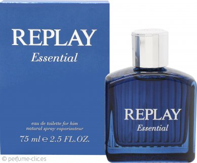 Replay Essential for Him Eau de Toilette 75ml Vaporizador