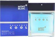 Mont Blanc Presence Cool Eau de Toilette 50ml Vaporizador