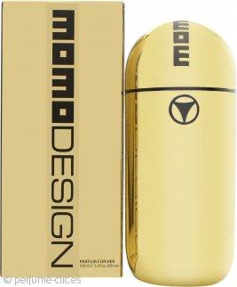Momo Design Gold Eau de Parfum 100ml Vaporizador