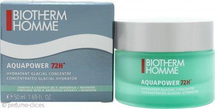 Biotherm Homme Aquapower 72H Hidratador Concentrado Glaciar 50ml