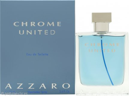 Azzaro Chrome United Eau de Toilette 100ml Vaporizador