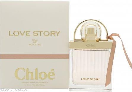 Chloe Love Story Eau de Toilette 50ml Vaporizador