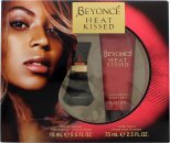 Beyonce Heat Kissed Set de Regalo 15ml EDP + 75ml Loción Corporal
