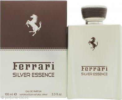 Ferrari Silver Essence Eau de Toilette 100ml Vaporizador