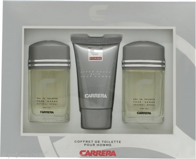 Muelhens Carrera Set de Regalo 2 x 30ml EDT + 75ml Bálsamo Aftershave