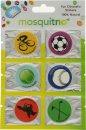 MosquitNo Spotzzz Citronella Adhesivos Hoja Única Diseños Mixtos