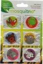 MosquitNo Spotzzz Citronella Adhesivos Hoja Única Diseños Safari