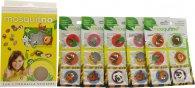 MosquitNo Spotzzz Citronella Set de Regalo Adhesivos 5 Hojas - Animales de Safari