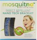 MosquitNo Insect Repellent Nano Pulseras Azul y Azul Oscuro