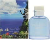 Dolce & Gabbana Light Blue Pour Homme Beauty of Capri Eau de Toilette 75ml Vaporizador