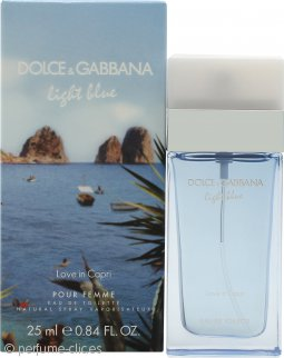 Dolce & Gabbana Light Blue Love in Capri Eau de Toilette 25ml Vaporizador