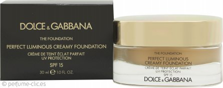 Dolce & Gabbana Perfect Finish Base Cremosa 30ml - 110 Caramel FPS15