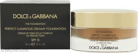 Dolce & Gabbana Perfect Finish Base Cremosa 30ml - 148 Amber FPS15