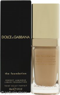 Dolce & Gabbana Perfect Luminous Base Líquida 30ml - 78 Beige