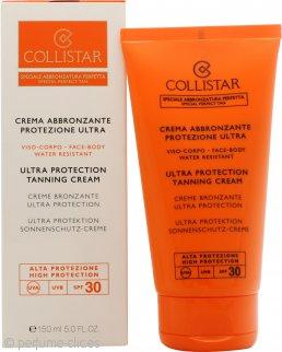 Collistar Ultra Protección Crema Bronceadora Facial-Corporal SPF30 150ml