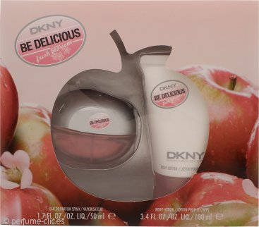 DKNY Be Delicious Fresh Blossom Set de Regalo 50ml EDP + 100ml Loción Corporal