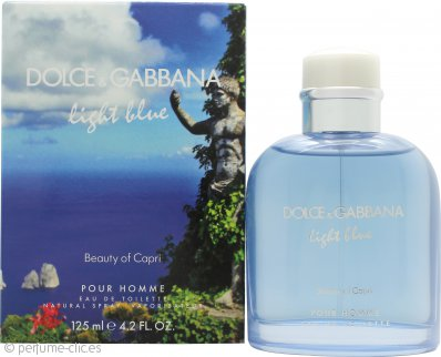Dolce & Gabbana Light Blue Pour Homme Beauty of Capri Eau de Toilette 125ml Vaporizador