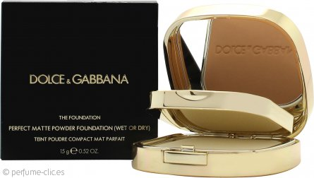 Dolce & Gabbana Perfect Matte Base en Polvo 15g - 140 Tan