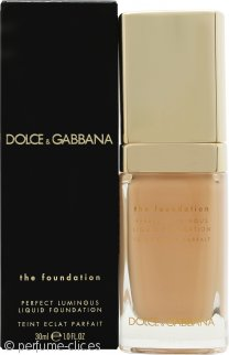Dolce & Gabbana Perfect Luminous Base Líquida 30ml - 130 Warm Rose