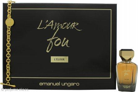 Emanuel Ungaro L'amour Fou L'Elixir Set de Regalo 50ml EDP + Pulsera