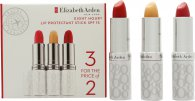 Elizabeth Arden Eight Hour Cream Protectant Barra de Labios 3 x 3.7g