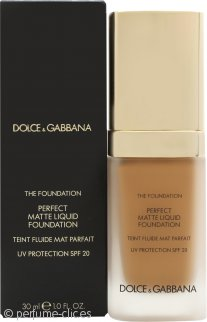 Dolce & Gabbana Perfect Matte Base Líquida 30ml - 140 Rose Beige