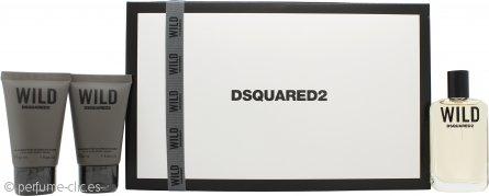 Dsquared2 Wild Set de Regalo 30ml EDT + 2 x 30ml Gel Corporal y Capilar