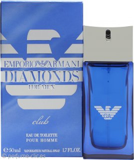 Giorgio Armani Emporio Armani Diamonds Club for Him Eau de Toilette 50ml Vaporizador