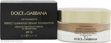 Dolce & Gabbana Perfect Finish Base Líquida 30ml - 80 Creamy FPS15