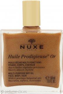 Nuxe Huile Prodigieuse Or Golden Shimmer Aceite Seco 50ml