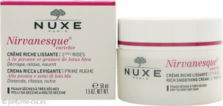 Nuxe Nirvanesque Enrichie 1st Wrinkles Rich Crema Suavizante 50ml (Pieles Secas a Muy Secas)