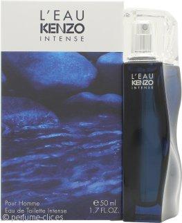 Kenzo L'Eau Kenzo Intense Pour Homme Eau de Toilette 50ml Vaporizador