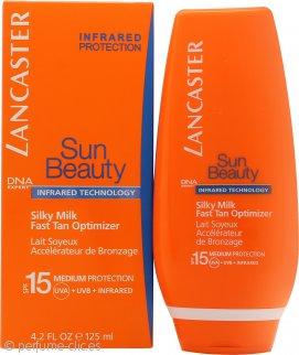Lancaster Sun Care Fast Tan Optimizer Shimmering Velvety Crema FPS15 125ml